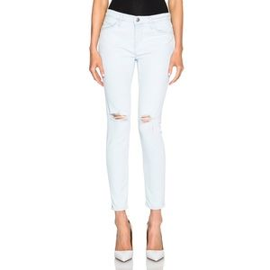 Current Elliott Stiletto Distressed Skinny Jeans
